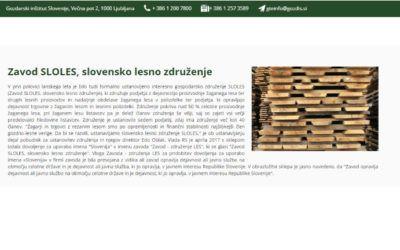 Zavod SLOLES, slovensko lesno združenje
