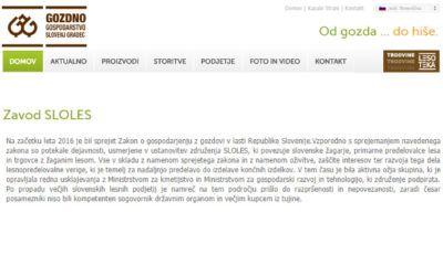 Zavod SLOLES – gozdno gospodarstvo Slovenj Gradec
