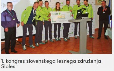 1st Congress of SLOLES Institute, Slovenian Wood Association